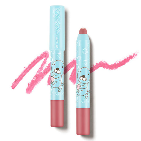 [APIEU] Color Lip Pencil (Matt) - PK03 (BONOBONO Edition)