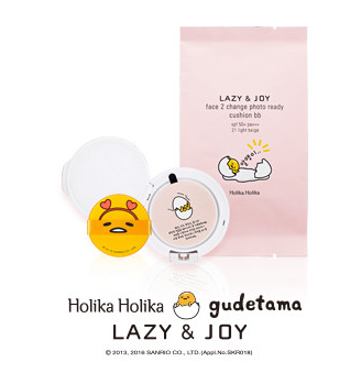 [Holika Holika] Photo Ready Cushion BB Refill (Gudetama Edition)