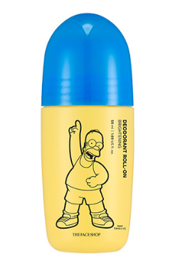 [THE FACE SHOP] Deodorant Roll On - Brightening (The Simpsons)