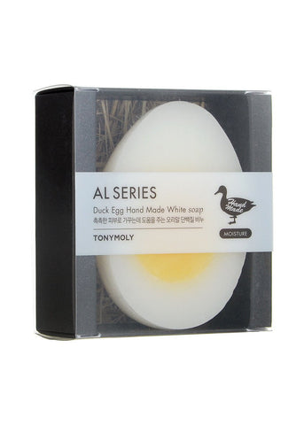 [TONYMOLY] Duck Egg Hand Made Soap_White(Moisture)