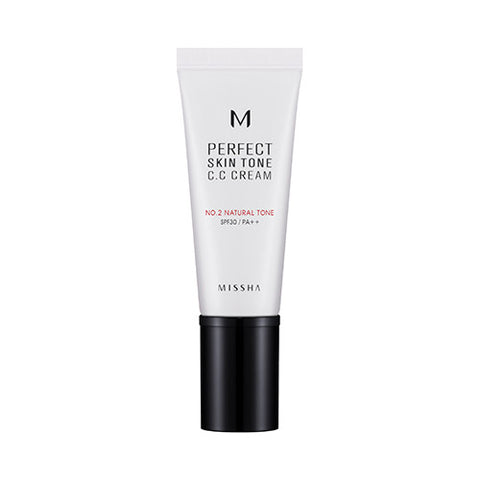 [MISSHA] [M] Perfect Skin Tone CC Cream SPF30 PA++ [#2 Natural Tone]
