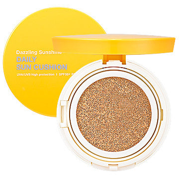 [Holika Holika] Dazzling Sunshine Daily Sun Cushion (SPF50 + PA +++)