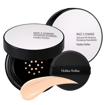 [Holika Holika] Face 2 Change Volume Fit Strobing Foundation