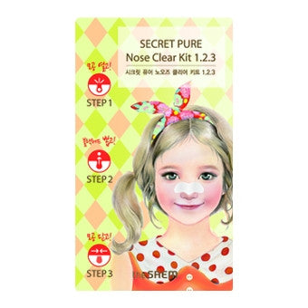 [the SAEM] Secret Pure Nose Clear Kit 1.2.3