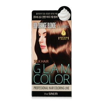 [the SAEM] Silk Hair Glam Color Bubble 8OR Ornage Blonde