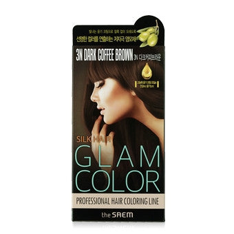 [the SAEM] Silk Hair Glam Color Cream 3N Dark Coffee Brown