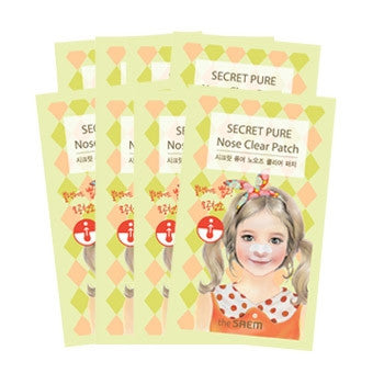 [the SAEM] Secret Pure Nose Clear Patch Set