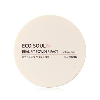[the SAEM] ECO SOUL Real Fit Powder Pact 21.Clear Beige