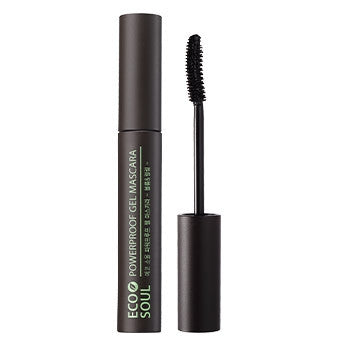 [the SAEM] Eco Soul Powerproof Gel Mascara - Volume & Curling