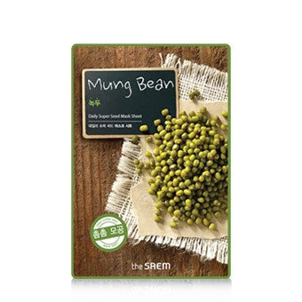[the SAEM] Daily Super Seed Mask Sheet - Mung Bean