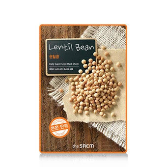 [the SAEM] Daily Super Seed Mask Sheet - Lentil Bean