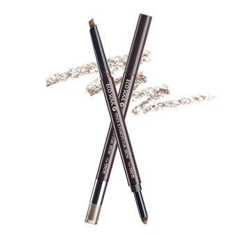 [the SAEM] eco soul pencil & powder dual brow 01.natural brow