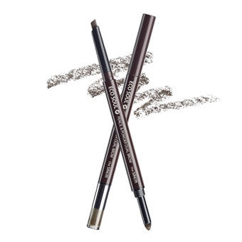 [the SAEM] eco soul pencil & powder dual brow 02.deep brown