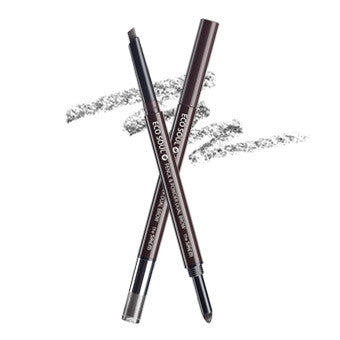 [the SAEM] eco soul pencil & powder dual brow 03.black gray