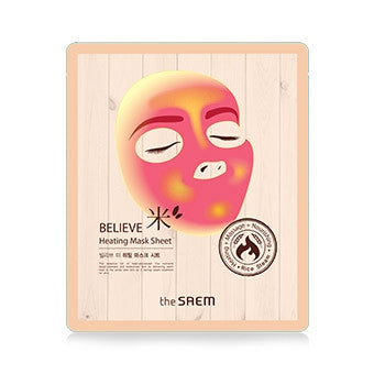 [the SAEM] BELIEVE ME Heating Mask Sheet