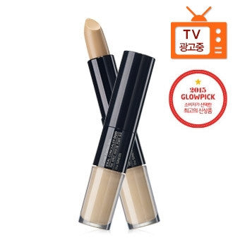 [the SAEM] Cover Perfection Ideal Concealer Duo 01.Clear Beige