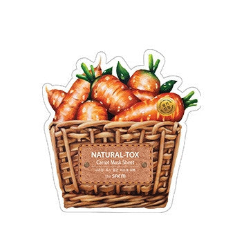 [the SAEM] Natural-tox Carrot Mask Sheet