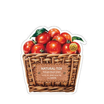 [the SAEM] Natural-tox Tomato Mask Sheet