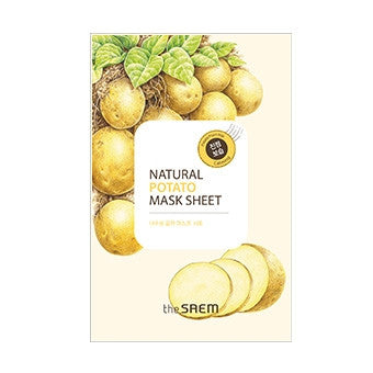 [the SAEM] Natural Potato Mask Sheet