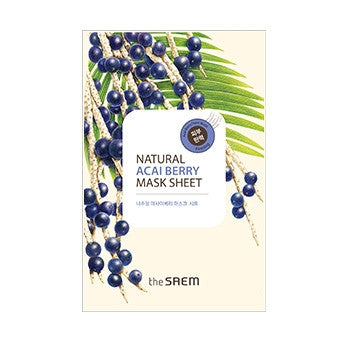 [the SAEM] Natural Acaiberry Mask Sheet