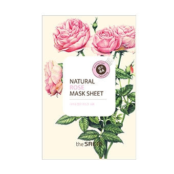 [the SAEM] Natural Rose Mask Sheet