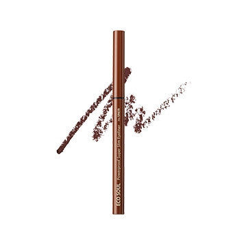 [the SAEM] Eco Soul Powerproof Super Slim Eyeliner BR02 Red Brown