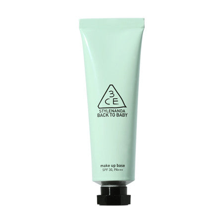 [3CE] Back To Baby Make Up Base Mint Green