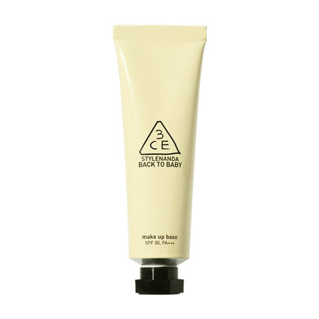 [3CE] BACK TO BABY MAKE UP BASE CREAM YELLOW
