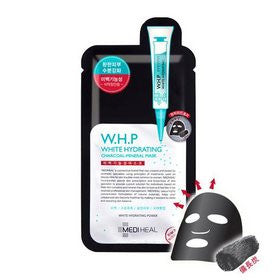 [MEDIHEAL] W.H.P WHITE HYDRATING CHARCOAL-MINERAL MASK 1P
