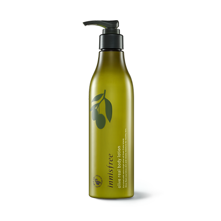 [Innisfree] olive real body lotion