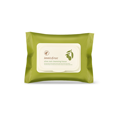 [Innisfree] olive real cleansing tissue