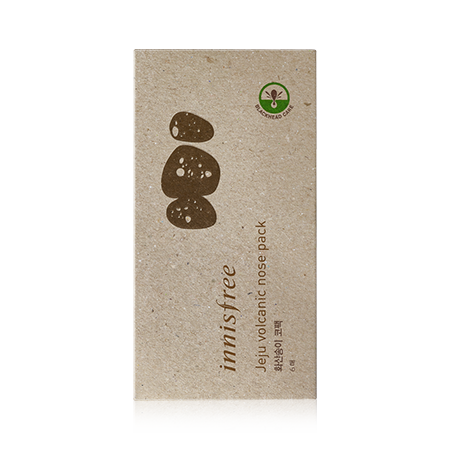[innisfree] Jeju Volcanic Nose Pack- 6 Sheets