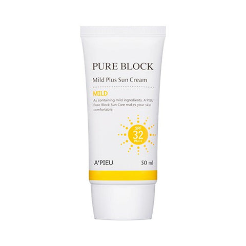 [APIEU] Pure Block Mild Plus Sun Cream SPF32/PA++