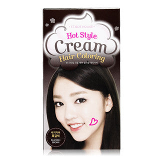 [ETUDE HOUSE] Hot Style Cream Hair Coloring Gray Coverage #Blackish Brown