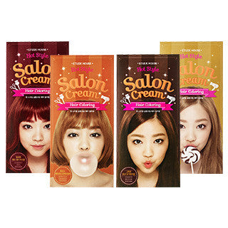 [ETUDE HOUSE] Hot Style Salon Cream Hair Coloring #1