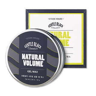 [ETUDE HOUSE] Gentle Black Natural Volume Gel Wax