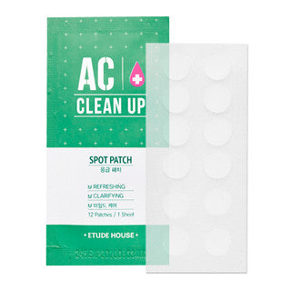[ETUDE HOUSE] AC Clean Up Spot Patches (12patches)