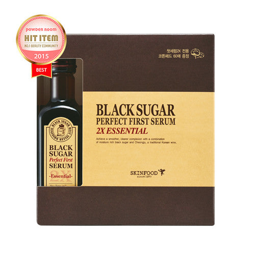 [SKINFOOD] Black Sugar Perfect First Serum 2X (Essential)