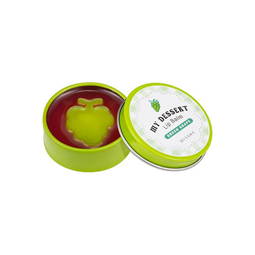 [MISSHA] My Dessert Lip Balm [Green Grape]