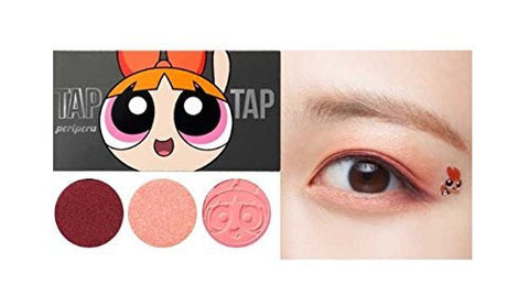 [PERIPERA] Tap Tap 3 Eyes (Powerpuff Girls Collabo)-#1 Pink Power Blossom