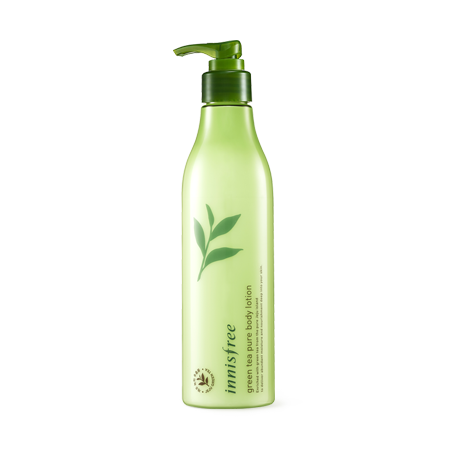 [Innisfree] green tea pure body lotion