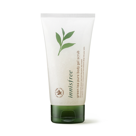 [Innisfree] Green Tea Pure Body Gel Scrub
