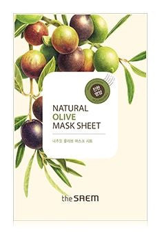 [the SAEM] Natural Olive Mask Sheet