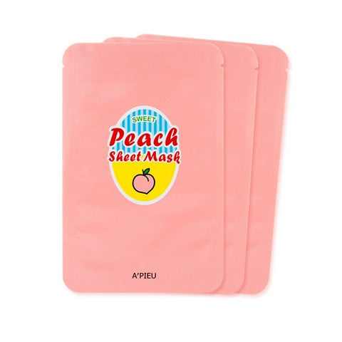 APIEU Sweet Peach Sheet Mask