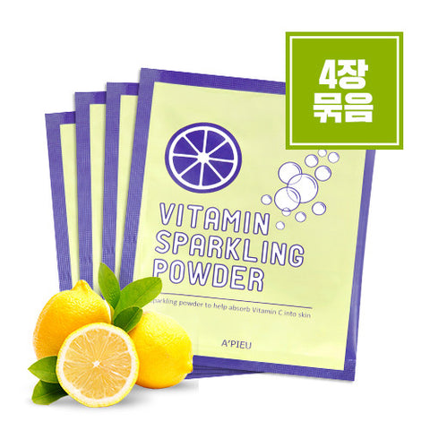 [APIEU] Vitamin Sparkling Powder (4Sheets)