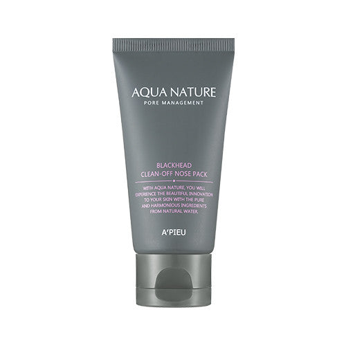 [APIEU] Aqua Nature - Blackhead Clean Off Nose Pack