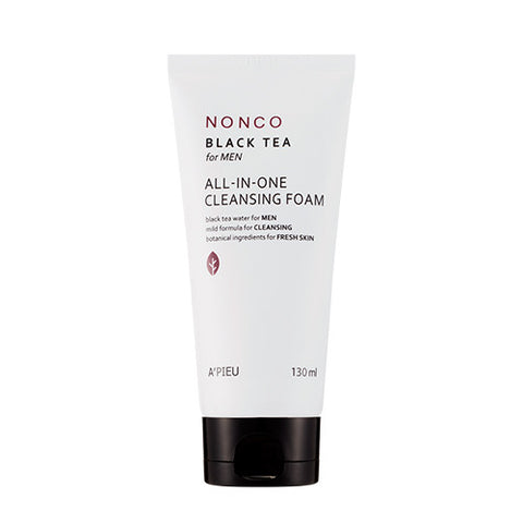 [APIEU] Nonco Black Tea for MEN All-in-one Cleansing Foam