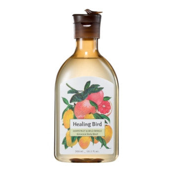 [Healing Bird] Botanical Body Wash (Grapefruit & Wild Mango)