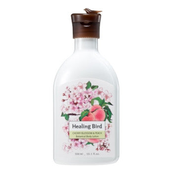 [Healing Bird] Botanical Body Lotion (Cherry Blossom & Peach)