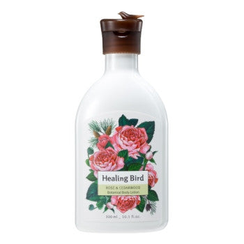 [Healing Bird] Botanical Body Lotion (Rose & Cedarwood)